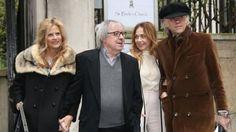 (L-R) Suzanne Accosta, Bill Wyman, Bob Geldof, Jeanne Marine