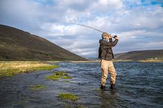 Icelandic landscape at its best. Oscar Pall Sveinsson with Einarsson Fly Fishing Team. Fishing Reels, Fly Fishing, Bradley Mountain, Iceland, Photo Galleries, Around The Worlds, Action, Landscape, Gallery