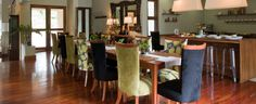 Beautiful mismatched dining chair covers