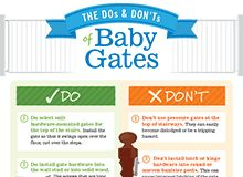 The Dos and Don'ts of Baby Gates
