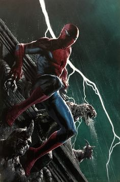 """The clone conspiracy  #1 cover"" by Gabriele Dell'otto"