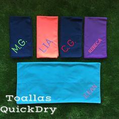 #ToallasQuickDry Diseños