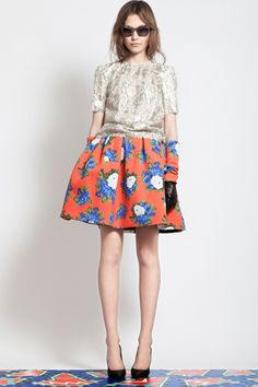 Instead of your usual mini, consider a full skirt as your new summertime silhouette.