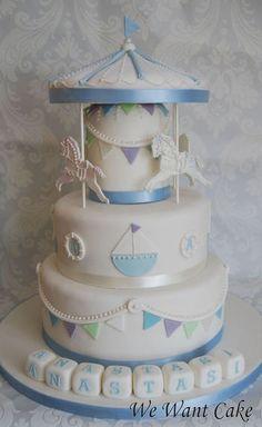 carousel nautical baby shower cake cakes-babies-birthdays-christenings-and-baby-showe