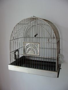 Now THIS is what I remember our bird cages looking like