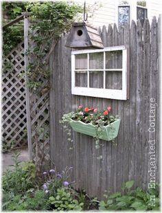 An Enchanted Cottage: Summer Garden Tour