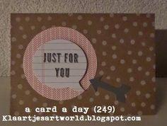 Klaartje's kaartjes en meer...: a card a day... (249)