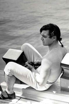 A handsome Fletcher Christian portrayed by the amazing #ClarkGable, #Mutiny on the Bounty in 1935