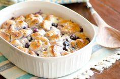 5-Ingredient Blueberry Ricotta Breakfast Bubble Up Bake