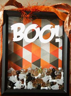 Kaminski's Creations: Boo! Shadow Box