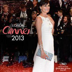 #Madame Inés de la Fressange #Look #MakeUp #Cannes2013 #LorealParisAr
