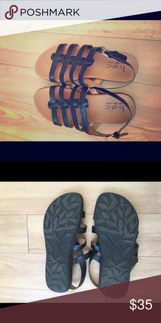 Born Concept Sandal Born Concept (BOC) sandals - 7- These have been worn inside once- like new Born Shoes Sandals