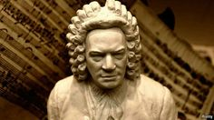 Sculpture of Bach