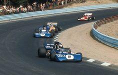 1971 United States Grand Prix by F1-N°. 8: Jackie Stewart (GBR) (Elf Team Tyrrell), Tyrrell 003 - Ford-Cosworth DFV 3.0 V8 (finished 5th) N°. 9: François Cevert (FRA) (Elf Team Tyrrell), Tyrrell 002 - Ford-Cosworth DFV 3.0 V8 (finished 1st)