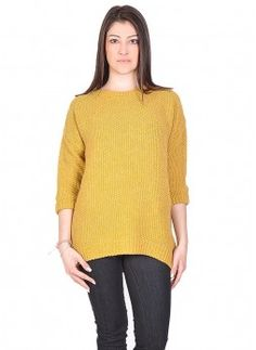 Maglione giallo in lana https://www.fashionbrasil.it/abbigliamento-donna/maglione-giallo-in-lana.html