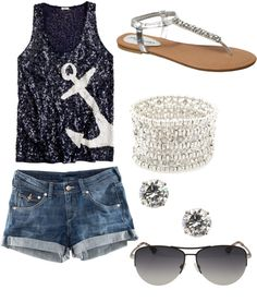 I'm in love with this outfit! Cute summer wear!