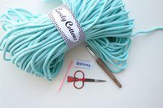 Hranatý košík NÁVOD – Veľká vlna Basket, Homemade, Crochet, Cotton, Style, Swag, Home Made, Ganchillo, Crocheting