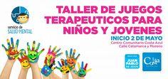 Habrá un Taller de Juegos Terapéuticos para niños y jóvenes en Costa Azul - Noticias