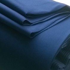 Navy cotton shirting
