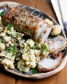 Pork Loin Roast with Sicilian Cauliflower | Big Girls Small Kitchen