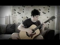The Elder Scrolls V Skyrim on Acoustic Guitar by GuitarGamer (Fabio Lima)