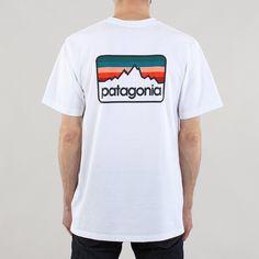 Patagonia Line Logo Badge T-shirt size L