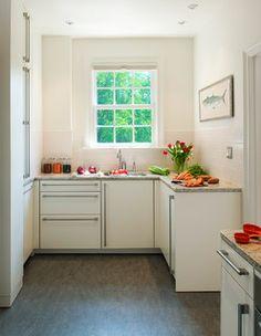Condo Remodel, Washington DC - transitional - kitchen - dc metro - by CARNEMARK Marmoleum