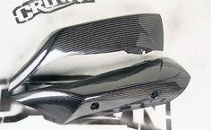 Yamaha R1 2007 - 2008 Carbon Fiber Exhaust Heat Shield    www.crownmotousa.com 2008 R1, Yamaha R1 2007, Carbon Fiber
