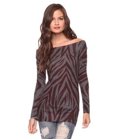 Tiger Stripes Tunic - Tops - 2000031968 - Forever21 - StyleSays