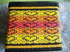 Поделка изделие Декупаж Плетение Схемы для ситца-2 Бумага Бумага газетная Трубочки бумажные фото 3