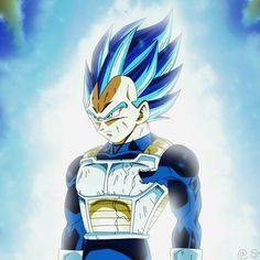Vegeta super Saiyan blue full power #dragonballsuper