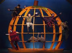 Just finished this book an hour ago... Is this really a thing?? james and the giant peach musical - Google Search