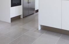 Natural stone flooring is perfect for kitchen floors & counters, whether they are contemporary, traditional, minimalist or farmhouse. Kitchen Tiles, Kitchen Flooring, Westbury Gardens, Natural Stone Flooring, Kitchen Living, Natural Stones, Tile Floor, Living Spaces, Minimalist
