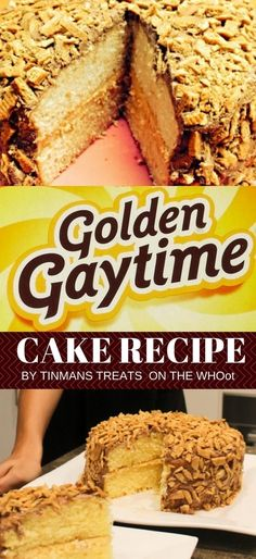 You Have To Make This Legendary Golden Gaytime Cake