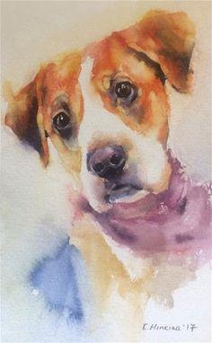 "Daily Paintworks - ""adopt233"" - Original Fine Art for Sale - © Katya Minkina"