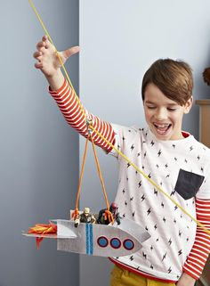 Forget those problem sets! Get your kids psyched about STEM with interactive toys they can make at home.