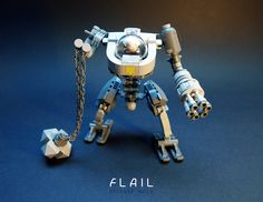"""FLAIL Defense Mech LEGO MOC"" by GolPlaysWithLego: Pimped from Flickr"