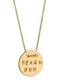 """need the """"salty soul"""" Mer Button Necklace 