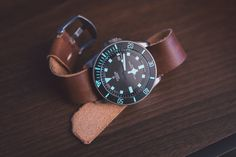Tudor Pelagos on leather nato Best Watches For Men, Cool Watches, Tudor Pelagos, Camera Watch, Automatic Watch, Dapper, Diving, Madness, Mens Fashion