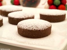 Polvorones de chocolate - MisThermorecetas