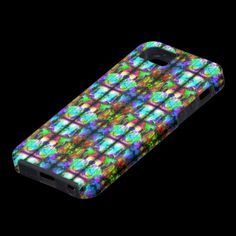 Stained Glass illusion iphone 5 case by Valxart.com Click to see Valxart iphone 5 cases http://zazzle.com/valxart+iphone+5?rf=238603243936463030  See more abstract & surreal iphone covers & decals at http://pinterest.com/valxart/apple-iphone-5-cases-covers-by-valxart/