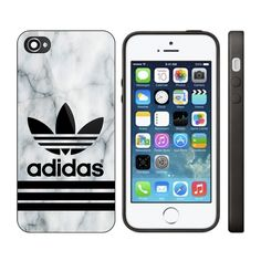 c4cc7602d8e5 Best New Adidas Custom Logo White Marble Print On Hard Cover For iPhone