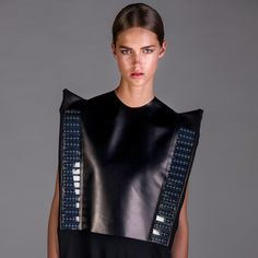 Van Dongen launched her womenswear label, which specialises in combining fashion and technology, in 2010. Her Wearable Solar range consists of a dress that incorporates 72 flexible solar panels as well as a coat that has 48 rigid crystalline solar cells.