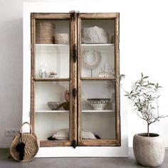 Getting Organized, China Cabinet, Ibiza, New Homes, Organization, Storage, House Styles, Display Cabinets, Furniture