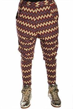 Zig Zag Nappytabs Harem Pants at Threader® Streetwear, Hip Hop Clothing, and Urban Clothing