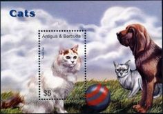 Stamp: Turkish (Antigua and Barbuda) (Cats) Sn:AG 2803