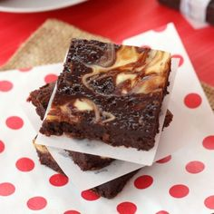 Nutella Cheesecake Brownies Recipe