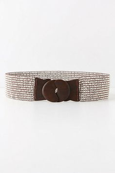 Grandmomma gave me this Anthropologie belt as a birthday present and I love it! Now to figure out what to wear it with first...