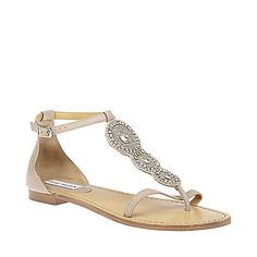 PARIDICE BLUSH women's sandal flat ankle strap - Steve Madden