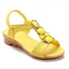 Bohemia Women's Sandals With Flat and Beading Design